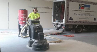 grinding concrete surface preparation