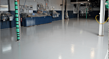 resin flooring for industrial and commercial floor applications