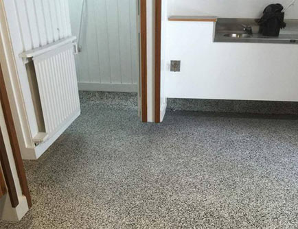 terraflake floor topping
