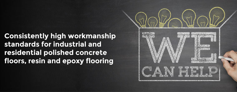 Constantly high worksmanship standards for industrial & commercial Epoxy Flooring