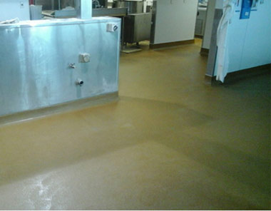 resin floor toppings & coatings