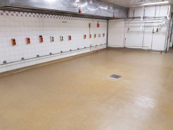 KFC Mangere Terrazzite Floor completed