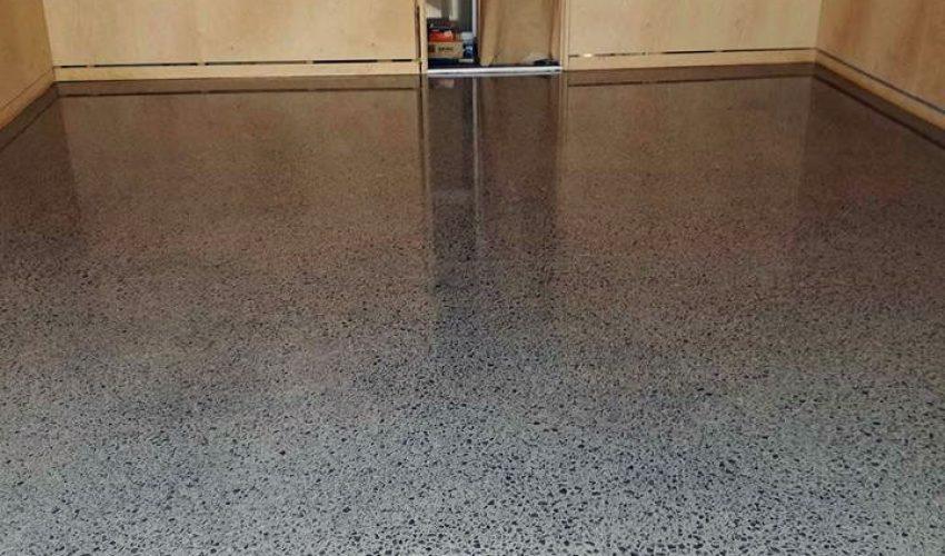 Mangawhai Home Polished Concrete Project -4 - EC Flooring